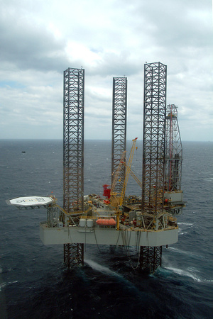 Offshore Drilling Platform, Gulf of Mexico
