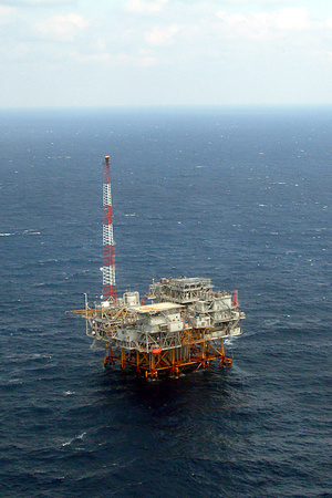 Offshore Production Platform, Gulf of Mexico